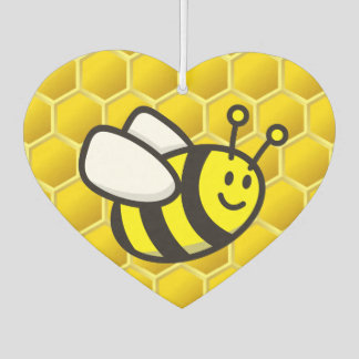 Honeybee Cartoon Air Freshener
