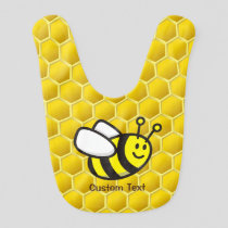 Honeybee Cartoon Baby Bib