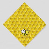Honeybee Cartoon Bandana