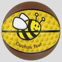 Honeybee Cartoon Basketball