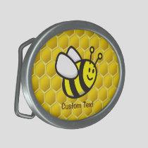 Honeybee Cartoon Belt Buckle