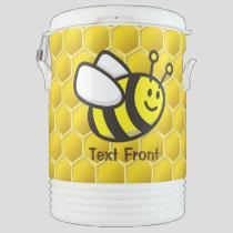 Honeybee Cartoon Beverage Cooler