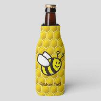 Honeybee Cartoon Bottle Cooler