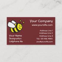 Honeybee Cartoon Business Card