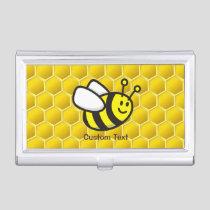Honeybee Cartoon Business Card Case