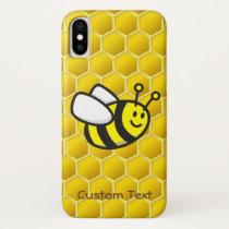 Honeybee cartoon iPhone XS case