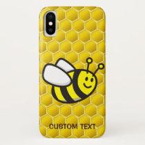 Honeybee Cartoon iPhone X Case