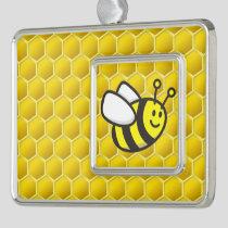 Honeybee Cartoon Christmas Ornament