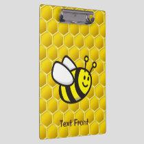 Honeybee Cartoon Clipboard