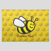 Honeybee Cartoon Cloth Placemat