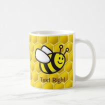 Honeybee Cartoon Coffee Mug