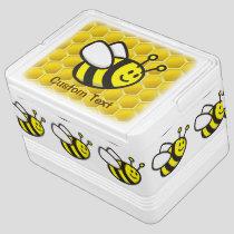 Honeybee Cartoon Cooler