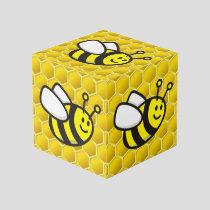 Honeybee Cartoon Cube