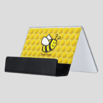 Honeybee Cartoon Desk Business Card Holder