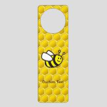Honeybee Cartoon Door Hanger