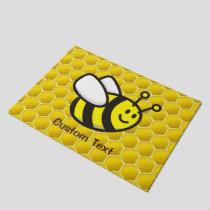 Honeybee Cartoon Doormat