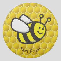 Honeybee Cartoon Eraser