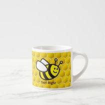 Honeybee Cartoon Espresso Cup