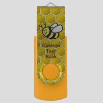 Honeybee Cartoon Flash Drive
