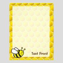 Honeybee Cartoon Flyer