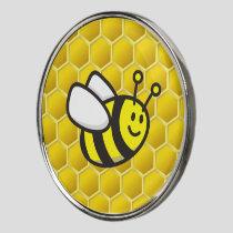 Honeybee Cartoon Golf Ball Marker