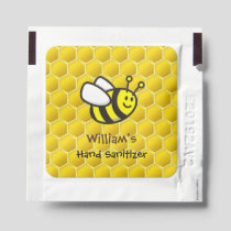 Honeybee Cartoon Hand Sanitizer Packet