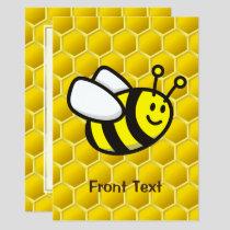Honeybee Cartoon Invitation