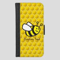 Honeybee Cartoon iPhone 8/7 Wallet Case