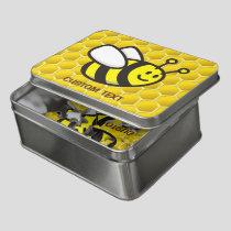 Honeybee Cartoon Jigsaw Puzzle