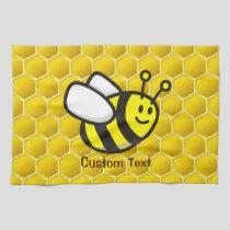 Honeybee Cartoon Kitchen Towel
