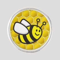 Honeybee Cartoon Lapel Pin