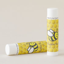 Honeybee Cartoon Lip Balm