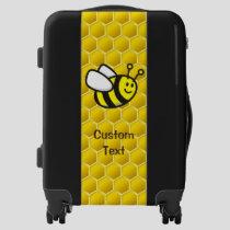 Honeybee Cartoon Luggage