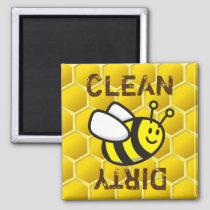Honeybee Cartoon Magnet
