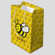 Honeybee Cartoon Medium Gift Bag