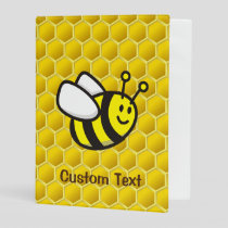 Honeybee Cartoon Mini Binder
