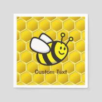 Honeybee Cartoon Napkins