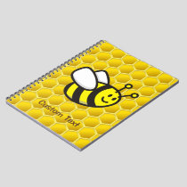 Honeybee Cartoon Notebook