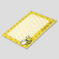 Honeybee Cartoon Notepad