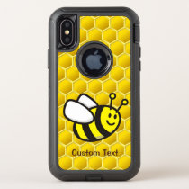 Honeybee Cartoon OtterBox Defender iPhone X Case