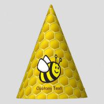 Honeybee Cartoon Party Hat