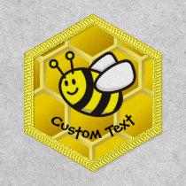 Honeybee Cartoon Patch