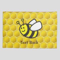 Honeybee Cartoon Pillow Case