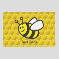Honeybee Cartoon Placemat