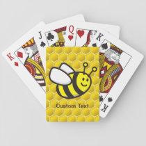 Honeybee Cartoon Playing Cards
