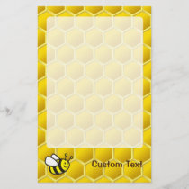 Honeybee Cartoon Stationery