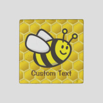 Honeybee Cartoon Stone Magnet