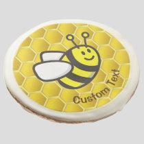 Honeybee Cartoon Sugar Cookie