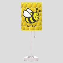 Honeybee Cartoon Table Lamp