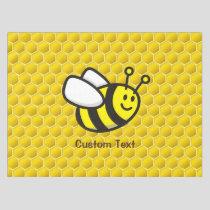 Honeybee Cartoon Tablecloth